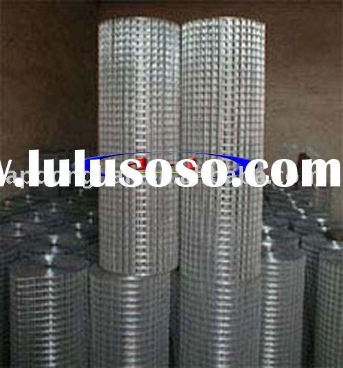 Hot Dipped Galvanized Welded Wire Mesh Roll(Manufacturer,ISO9001:2000)