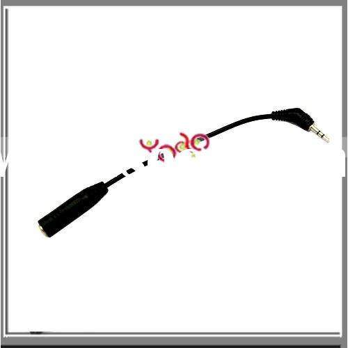 Hot! Male 2.5mm To Female 3.5mm Headphone Adapter