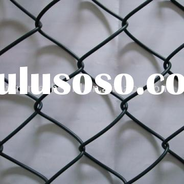 Hot Sale Green PVC Coated Chain Link Fence