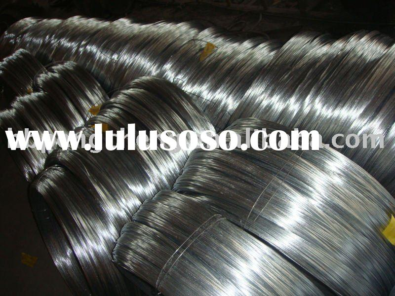 Hot-dip galvanized steel wire