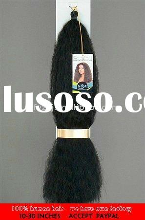 Hot sale 24 inch clip in human hair extensions with factory price