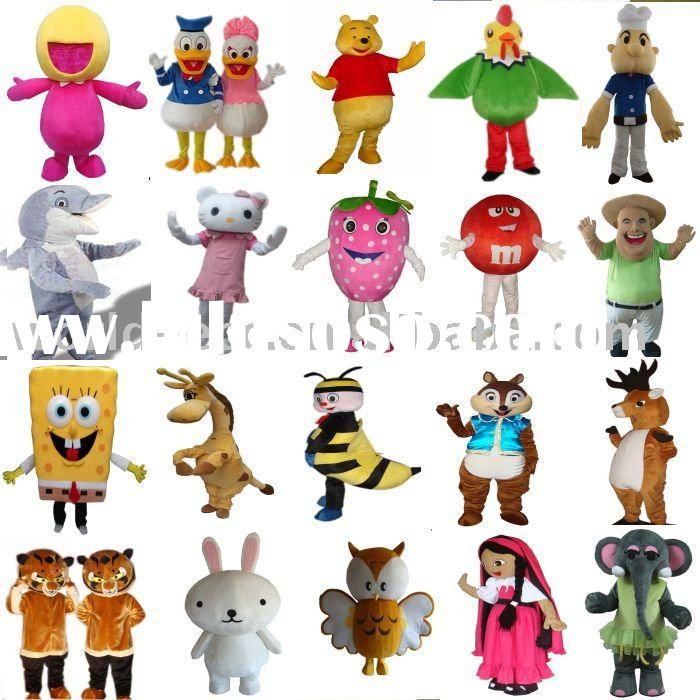 Hot sale Mascot, cartoon costume, fur costume, mascot costume