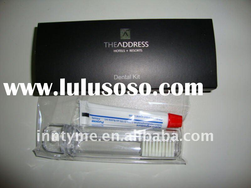 Hotel dental kit,toothbrush,toothpaste