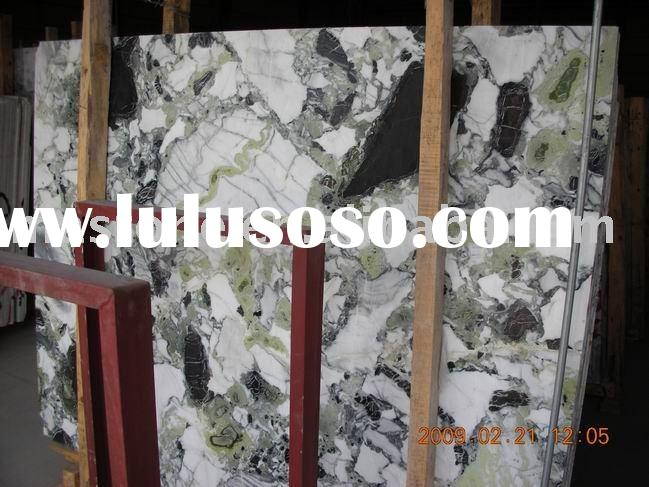 Ice Emerald green marble slabs