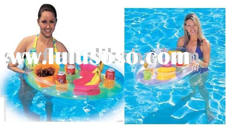 Inflatable Pool Drink Caddy,inflatable Spa drink caddy,inflatable floating beverage caddy,inflatable