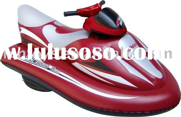 Inflatable motor boat toy /summer swimming pool toy