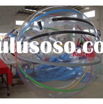 Inflatable water ball, colourful water ball, water walker