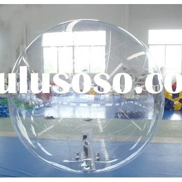 Inflatable water sphere, water game, inflatable clear ball