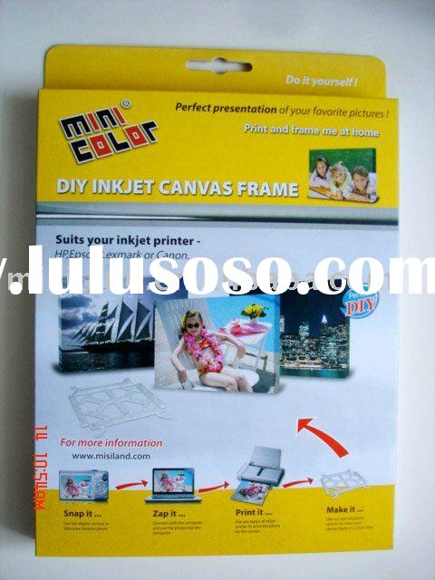 Inkjet DIY Photo Canvas Frame Kit (Do It Yourself Canvas)