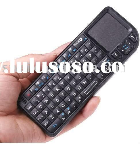 Innovative Design Wireless Keyboard with Touchpad Laser Pointer for ipad, Smart Phone, Pocket PC, La