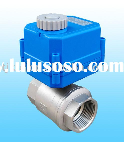 KLD100 2-Way actuator Ball Valve for automatic control, water treatment