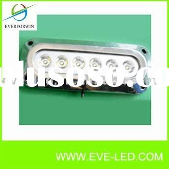 LED Boat Light ,Led Underwater Light with 3X2W Surface Mount Marine Light-- SS316 Housing