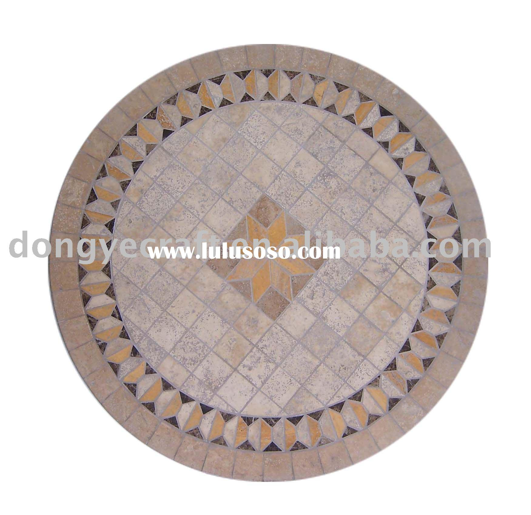 Marble table top(table tops,marble table tops,Mosaic pattern table top)