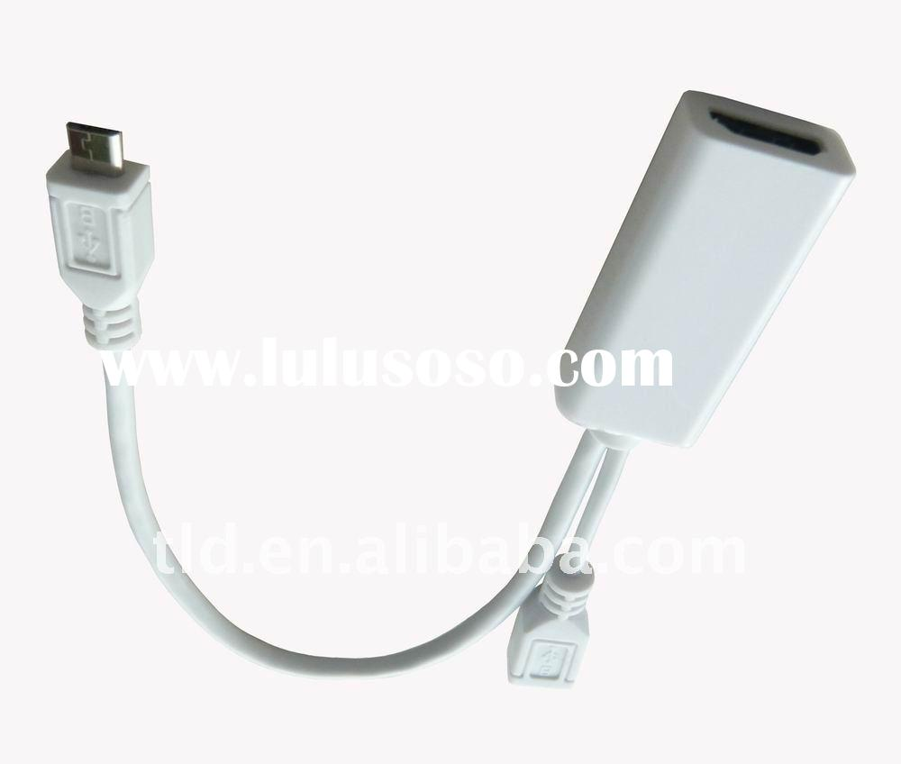 Micro USB to HDMI female cable