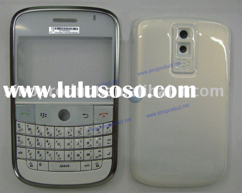 Mobile phone housing for blackberry bold 9000,cell phone white cover for bold 9000