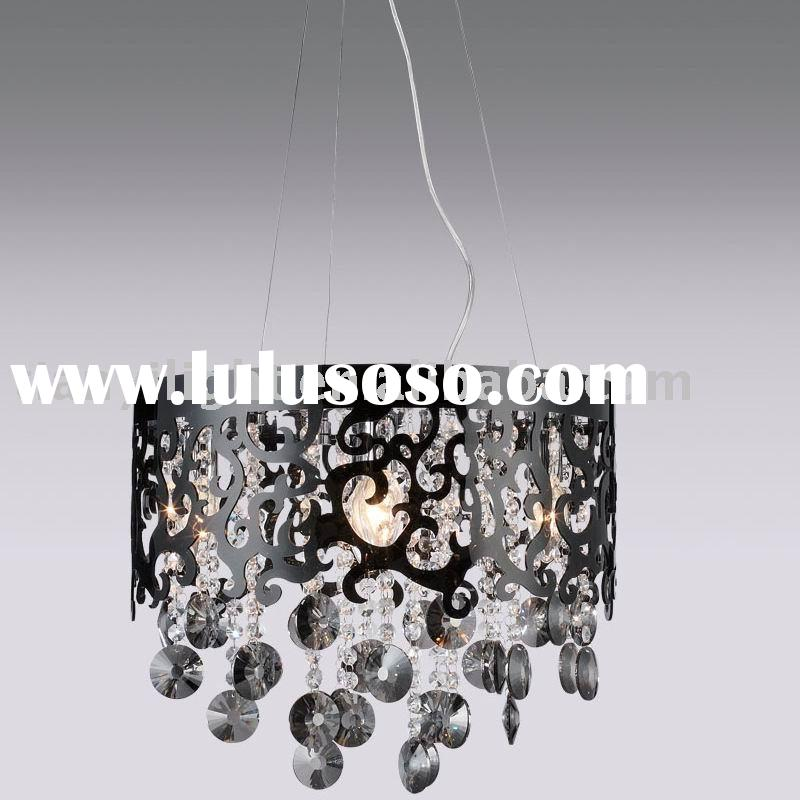 Modern acrylic pendant light with crystal 3200-5L