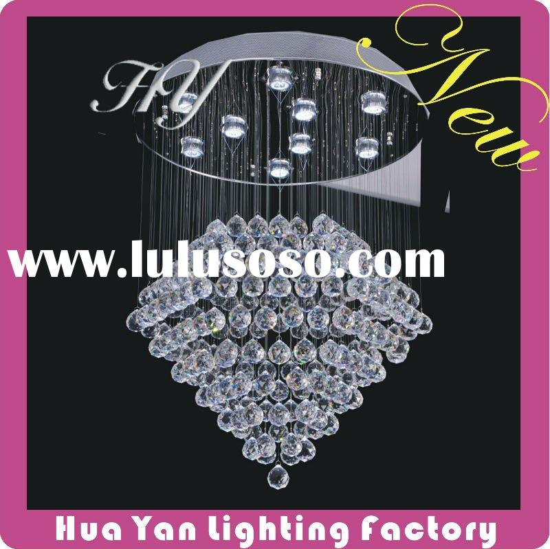 Modern crystal chandelier, Crystal Light, LED Light Source, Lighting , pendant light