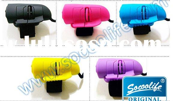 New Novelty USB mini wired 3D optical finger mouse
