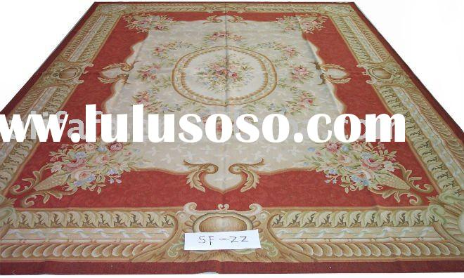 New Zealand wool aubusson carpet