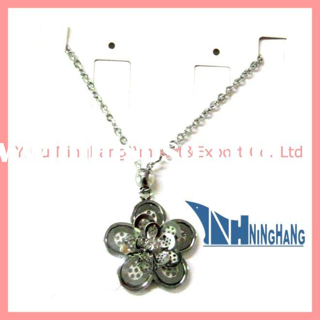 New style stainless steel necklace with fashion pendant (NSL 242)