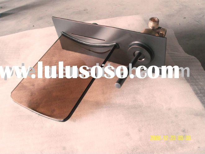 Oil rubbed Bronze Wall mounted faucet
