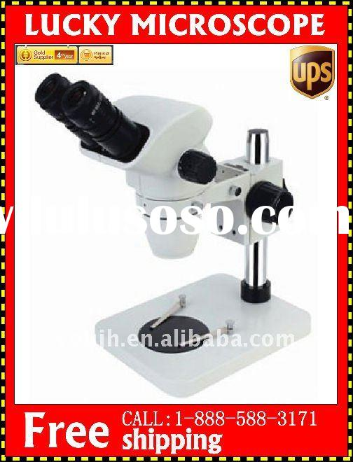 Olympus Style Stereo Zoom Microscope 6.7X-45X+B1with LED 64PCS