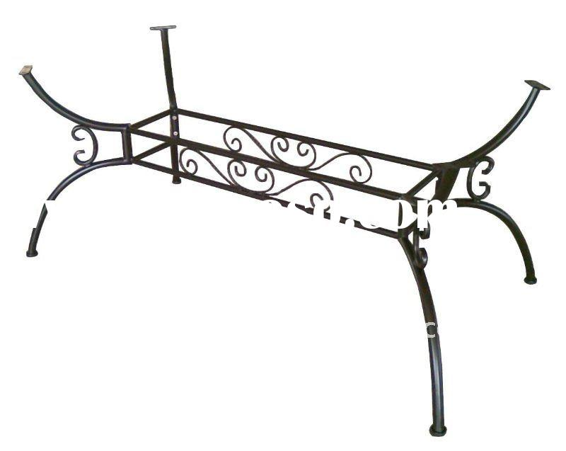 Outdoor Furniture Part Wrought Iron Table Legs YB681024