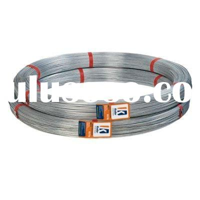 Oval hot-dipped galvanized Steel Wire