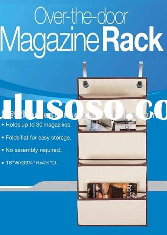 Over the Door Magazine Rack