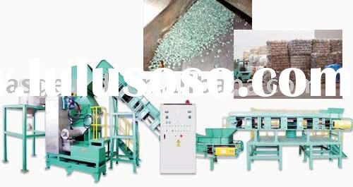 PET bottle recycling line plastic machinery PET bottle recycling machine