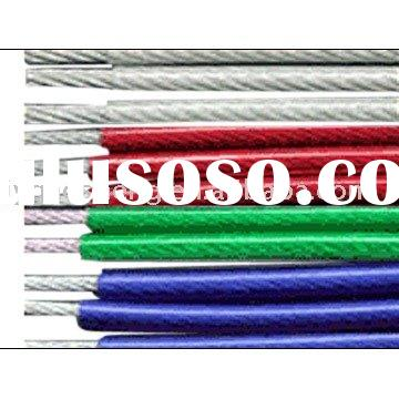 PVC Coated Steel Wire Rope, Steel Wire Rope,Wire Rope