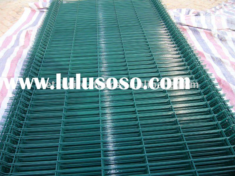 PVC Coated Welded Wire Fence Panel