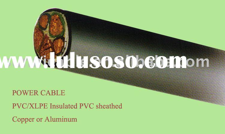 PVC/XLPE Insulated PVC Sheathed Power Cable