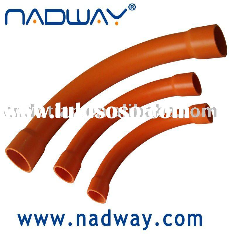 PVC electrical conduit-bends