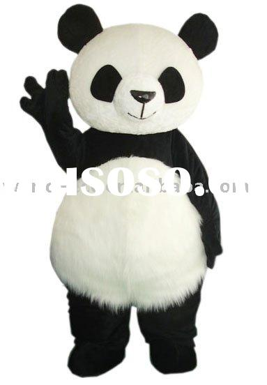 Panda costume fur costume mascot costume party costume