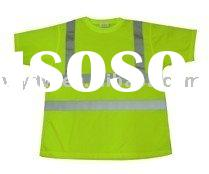 Quick dry Hi-vis Safety t-shirts,Safety t-shirt,ANSI Hi vis safety t-shirt