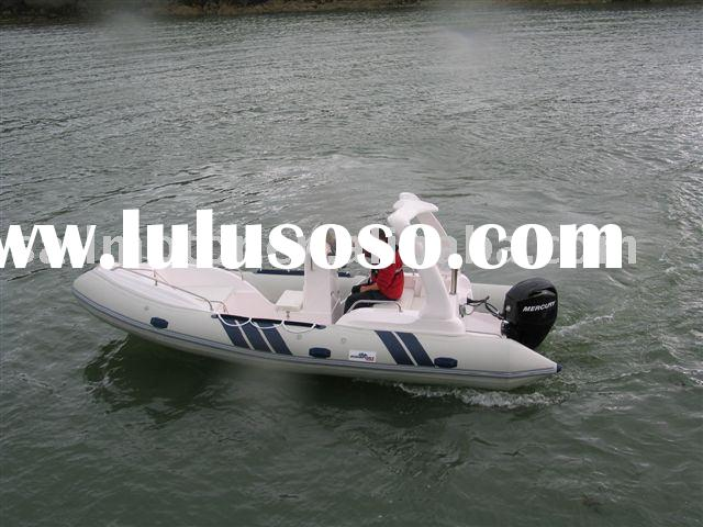 RIB Boat 5.8m with console system ( RIB580 ) - New