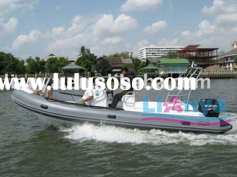 RIB boat 6.6m with CE,motor boat,yatch