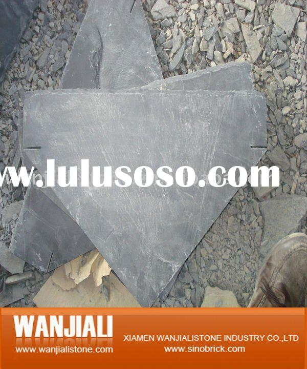 Roofing black Slate Tiles