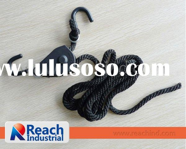 Rope Ratchet Tie Down with S Hook