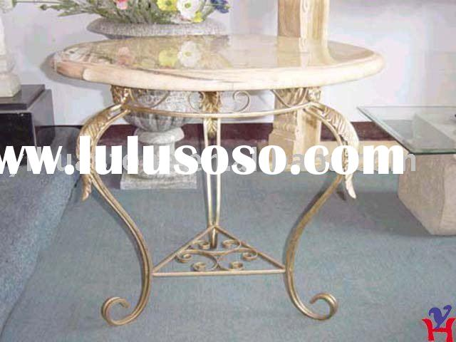 Round Dining Table Marble Top