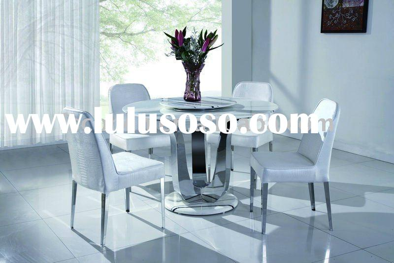 Round Marble Top Dining Table Furniture hardware furniture