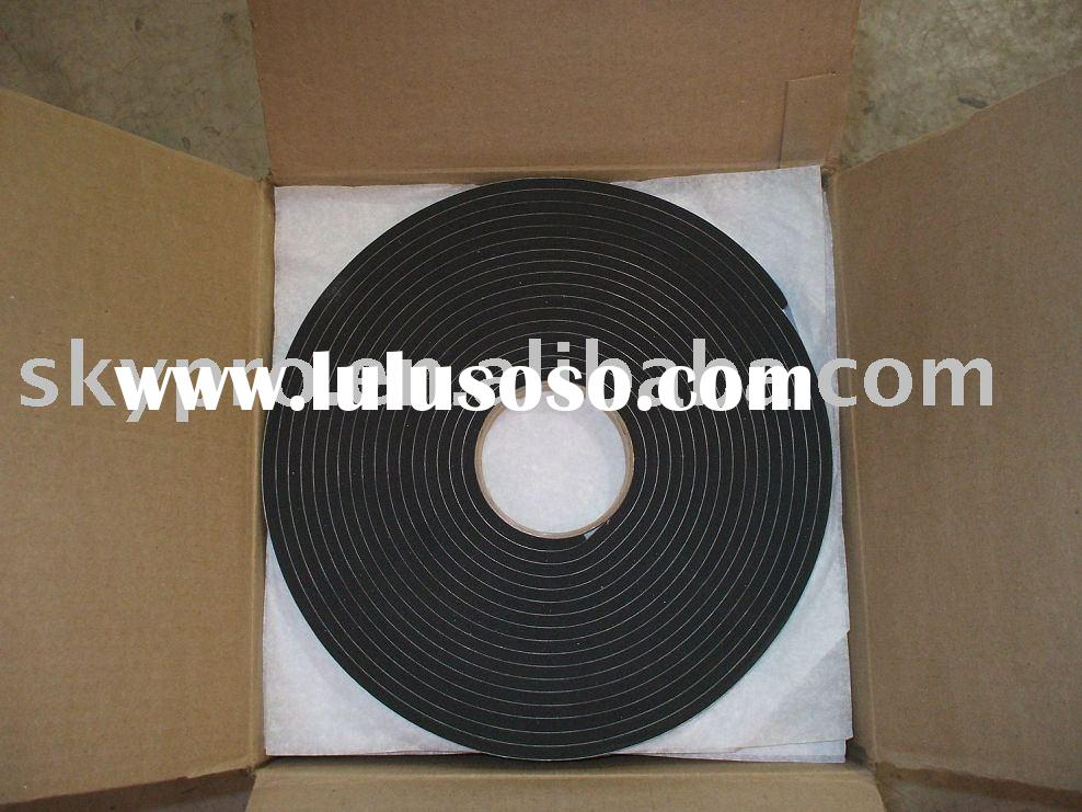 SBR, neoprene rubber sheet(strip)with adhesive back