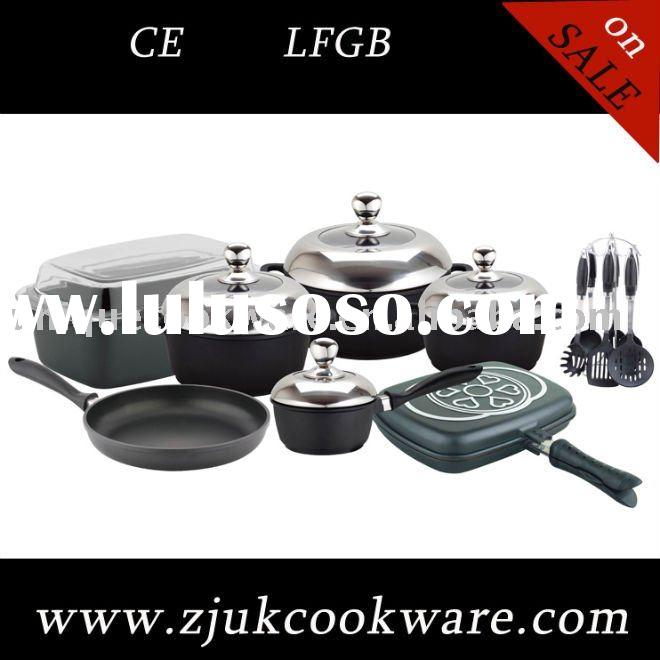 SOLD WELL IN MIDDLE EAST!!Die Casting Aluminum Marble or Ceramic Cookware