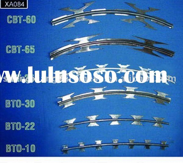SS/iron concertina Barbed Razor Wire Factory