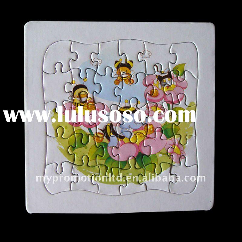 School Paper Puzzle Jigsaw for children