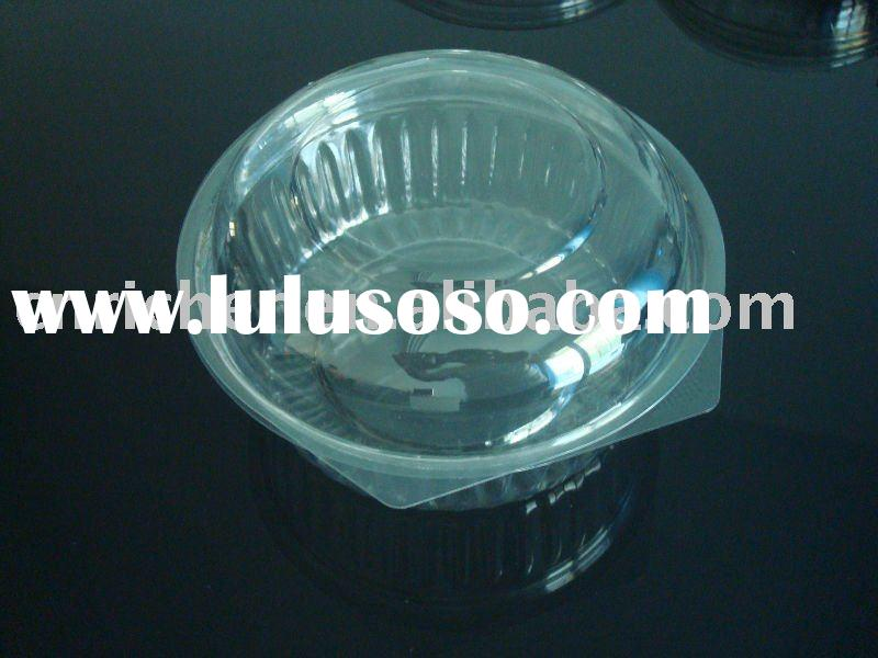 Sell disposable plastic food container with lid