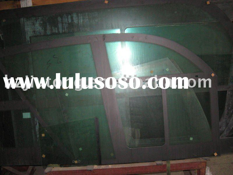 Side glass for King Long, Higer, Golden Dragon, Yutong, Neoplan, Bon Luck buses