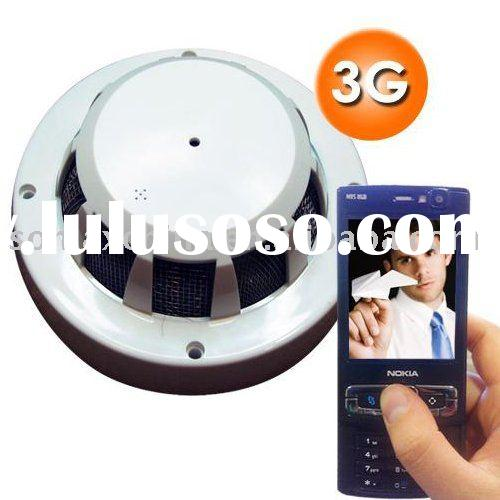 Smoke Alarm 3G Video Camera/WCDMA 3G Camera/Smoke DVR