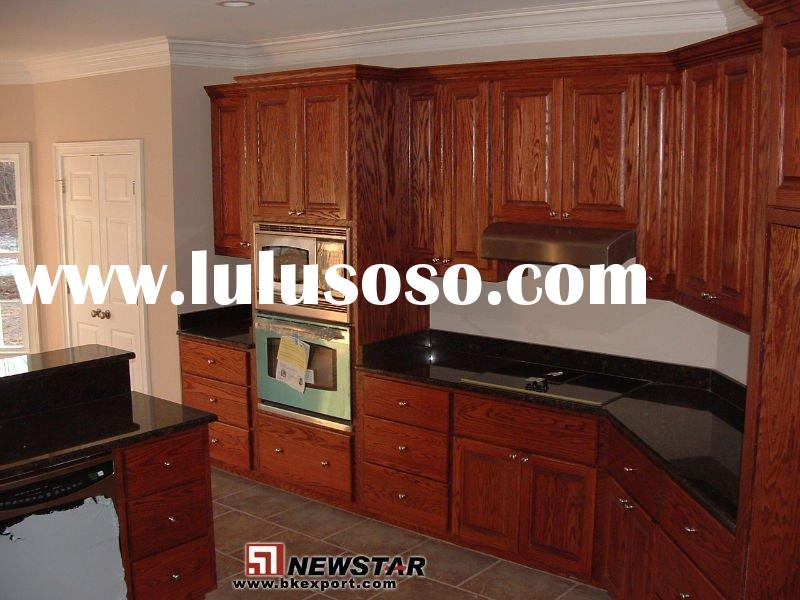 Solid Wood Kitchen Cabinets (Cherry Wood)